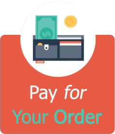 Make a payment to place an order