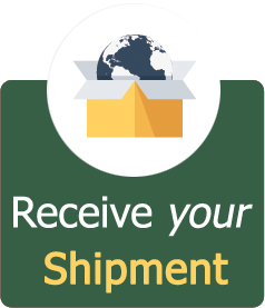 Receive your shipment at your door step